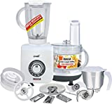 Inalsa 700W Food Processor with Mixer Grinder, Multicolour