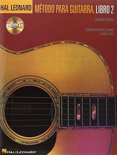 Hal Leonard Metodo Para Guitarra - Libro 2: Spanish Edition Book/CD Pack by Schmid, Will, Koch, Greg (2005) Paperback