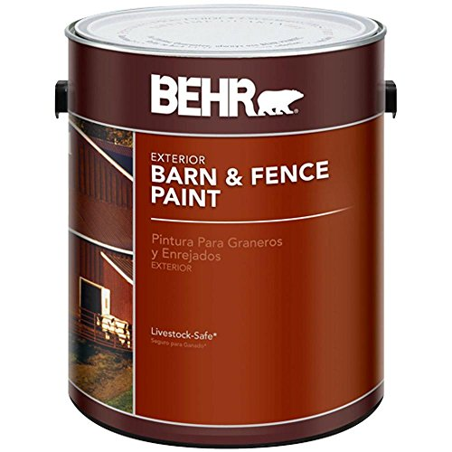 BEHR Red Exterior Barn and Fence Paint