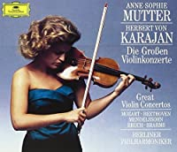 Great Violin Concerti [4 CD Box Set] by Anne-Sophie Mutter (1990-10-25)