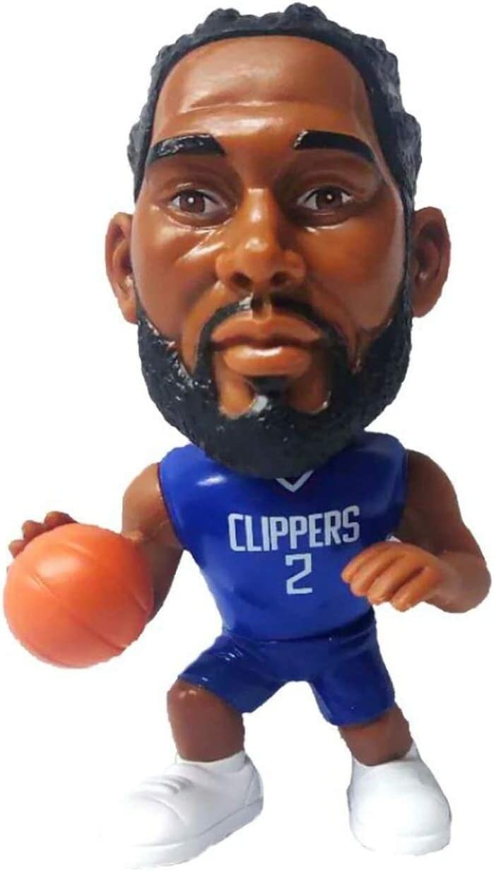 Party Animal NBA Clippers Leonard Figuri Action Shot Over Max 64% OFF item handling ☆ Ballers Big