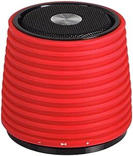 Audiosonic SK-1524 - Altavoz con Bluetooth, Aux-in, USB, Color Rojo