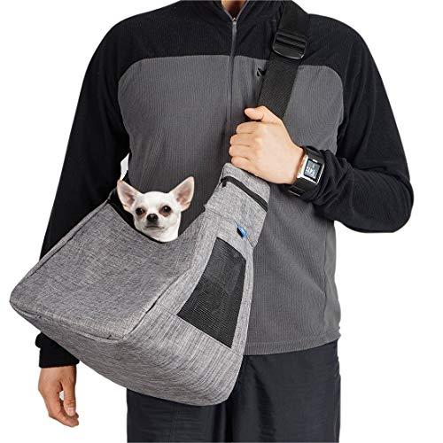 COOLBEBE Hunde Tragetaschen, Katze Haustier Schultertasche hundrucksack für kleine und mittelgroße Katzen und Hunde bis 5kg, perfekt für Outdoor-Aktivitäten