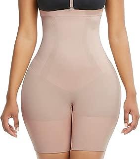 FEDNON Women's Seamless Thigh Slimmer Butt Lifter Shapewear High Waist Shorts