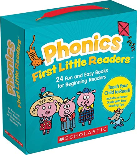 Phonics First Little Readers (Parent Pack): 24 Fun and Easy Books for Beginning Readers