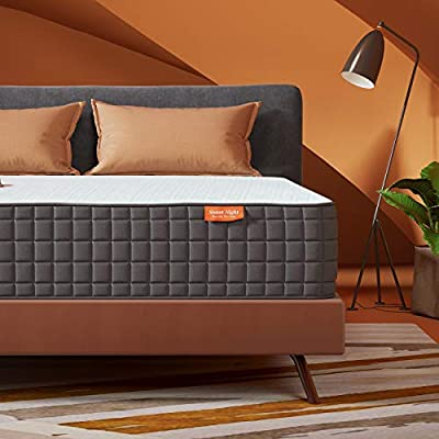 Sweetnight 10 Inch King Size Mattress-Infused Gel Memory Foam Plush Top Mattress, Medium Firm,Breeze
