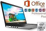 Laptop INSPIRON 3793 - CORE i5 - 16GB DDR4-RAM - 1000GB SSD - Windows 10 PRO + MS Office 2016 PRO - 44cm (17.3') Full HD MATT - CD/DVD Brenner
