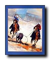 ロデオ馬のローピング大人と子供のための300ピースのジグソーパズルチャレンジゲーム
