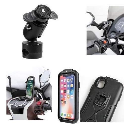 Compatible con Royal Enfield Electra Trial 500 Soporte para Smartphone TELÉFONO ESPECÍFICO...