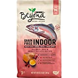 Purina Beyond Indoor, Grain Free, Natural Dry Cat Food, Grain Free Salmon, Egg & Sweet Potato Recipe - 3 lb. Bag