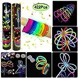 200 Pulseras luminosas glow pack multicolor...