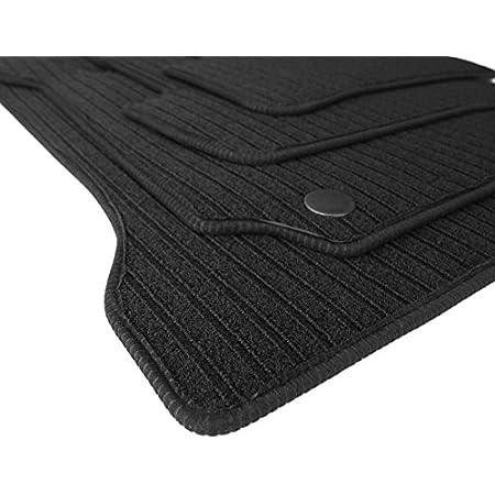 Kh Teile Fußmatten Rips Automatten Original Qualität Ripsmatten 4 Teilig Grau Mit Absatzschoner Auto