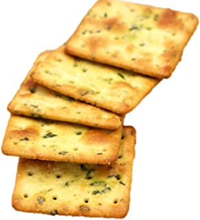 OuYang Hengzhi Office Snack Old Fermented Brittle Soda Biscuit Chive Flavor 老酵苏打饼 1.5kg/3.3lb
