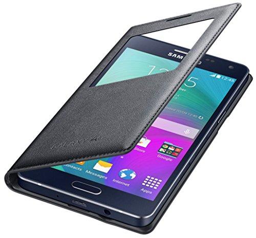 Samsung S View Cover per Galaxy A5 Versione 2015, Nero