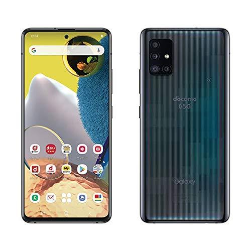 SIMフリー docomo Galaxy A51 5G SC-54A [プリズム ブリックス ブラック] スマートフォン本体