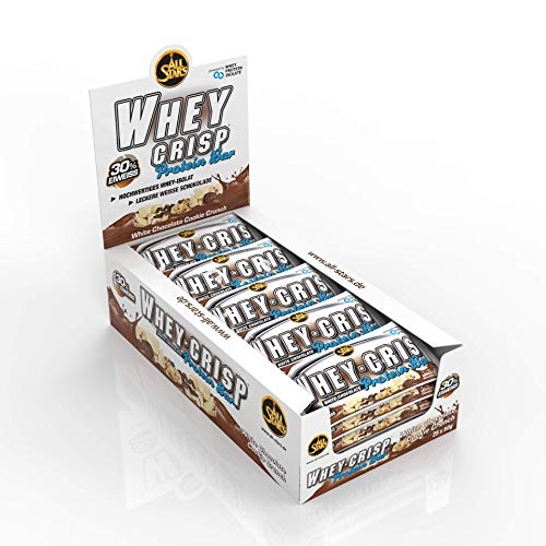 All Stars Whey-Crisp Bar, White Chocolate Cookie Crunch, 25er Pack (25 x 50 g)