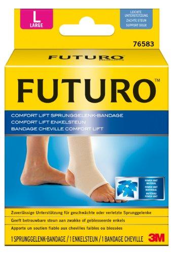 Futuro 76583 - Tobillera, tamaño L, color beige