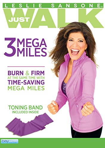 Leslie Sansone: 3 Mega miles - Includes FREE Fitness Toning Band