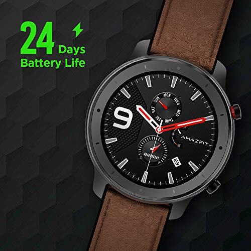 Amazfit-GTR-Smartwatch-with-GPSGLONASS-All-Day-Heart-Rate-Monitor-Daily-Activity-Tracker-Rate-and-Activity-Tracking-24-Day-Battery-Life-12-Sport-Modes-47mm