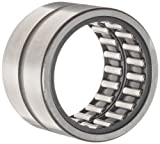 Image of INA RNA4906 Precision Needle Roller Bearing, Steel Cage, Open End, Oil Hole, Metric, 35mm ID, 47mm OD, 17mm Width, 13000rpm Maximum Rotational Speed