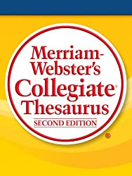 commercial Merriam-Webster University Thesaurus, 2nd Edition dictionary reference com crossword solver