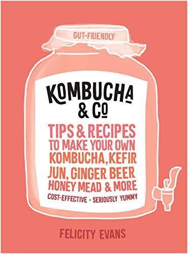 Kombucha & Co: Tips and recipes to make your own kombucha, kefir, jun, ginger beer, honey mead and more (English Edition)
