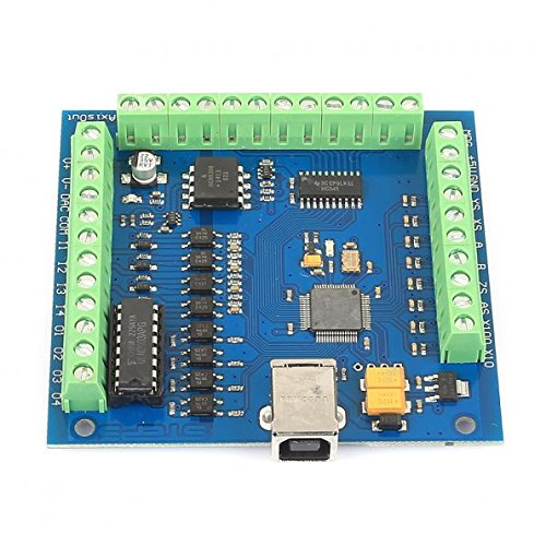 SainSmart 4 Axis Mach3 USB CNC Motion Controller Card Interface Breakout Board MC3D3 V2.1