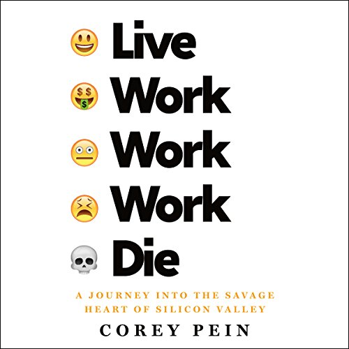 Live Work Work Work Die audiobook cover art