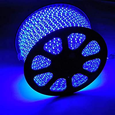 150FT 2-Wire Waterproof LED Rope Light Kit