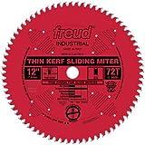 Freud 12' x 72T Thin Kerf Sliding Compound Miter Saw Blade (LU91R012)