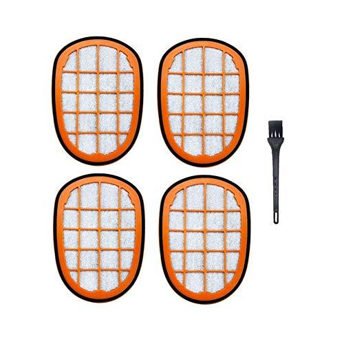 ZRNG 5pcs Aspirador de Filtro Accesorios Fit for Philips FC6822 FC6823 FC6827 FC6908 FC6906 FC6904 Limpiador de Partes Vacuum
