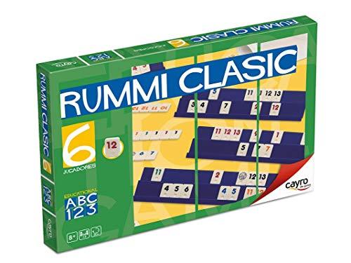 Cayro - Rummi Classic 6 Jugadores - Juego Tradicional - Juego de...