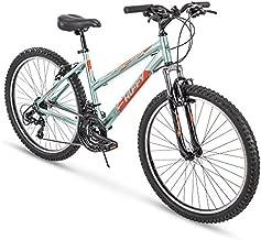 Huffy Hardtail Mountain Trail Bike 24 inch, 26 inch, 27.5 inch, 26 inch wheels/15 inch frame, Gloss Metallic Mint