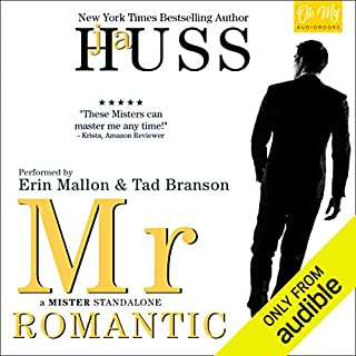 Mr. Romantic audiobook cover art