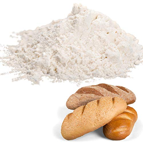 Honeyville Premium Bread Flour - 20 LB Case, For Breads and Baked Goods, Bleached Wheat Flour