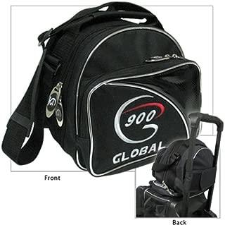 900 Global Add-a-Bag Single Tote Bowling Bag- Black/Silver ()