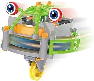 Yissma Tightrope promenader skottkärra leksak elektrisk balans bil lysande tumlare skottkärra leksak barns tävling leksak
