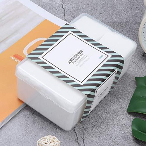1000 piezas de toallitas de maquillaje herramientas cosméticas para pieles sensibles para desmaquillar para mujeres para viajes