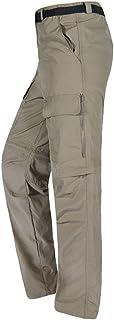 comprar comparacion Baymate Pantalone de Trekking 2 en 1 para Hombre Secado Rápido Deportes Al Aire Libre Pantalones