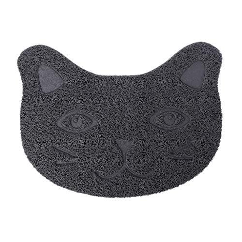 NKYSM Pet Cats Mat gezichtstrooi zandbak voerbak pvc-tafelkleed netjes schoonmaken