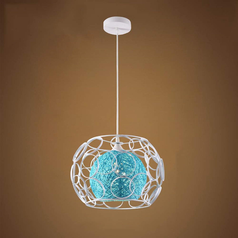 Moderne E27 Pendelleuchte Kreative Kronleuchter Hhenverstellbar Blau Innen Lampe Dekoration Leuchte Runde Für Esstisch Wohnzimmer Küche Restaurant 25  18  100 CM