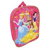 Disney Princess Mochila básica para niños, 31 cm, 6 litros, color rosa