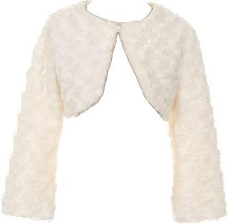 faux flower coat