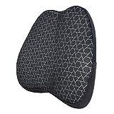 Amazon Basics - Almohada viscoelástica con apoyo lumbar, con triángulos