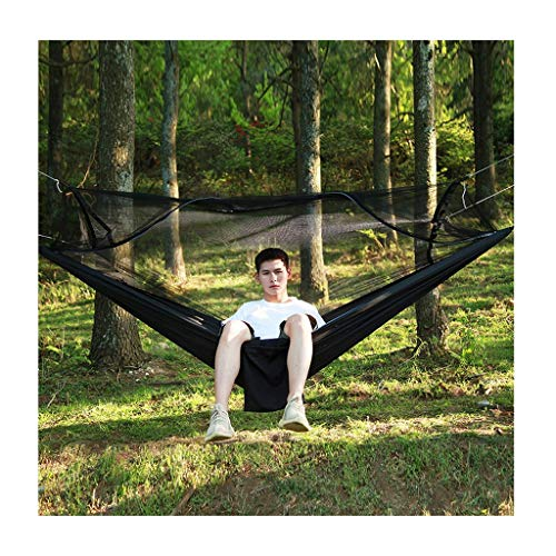 zxb-shop Swings Seats Hammock with Mosquito Net, Lightweight Camping Swing, Portable Swing for Indoor,Outdoor, Hiking, Camping, Backpacking Playground Swing Set (Color : D)
