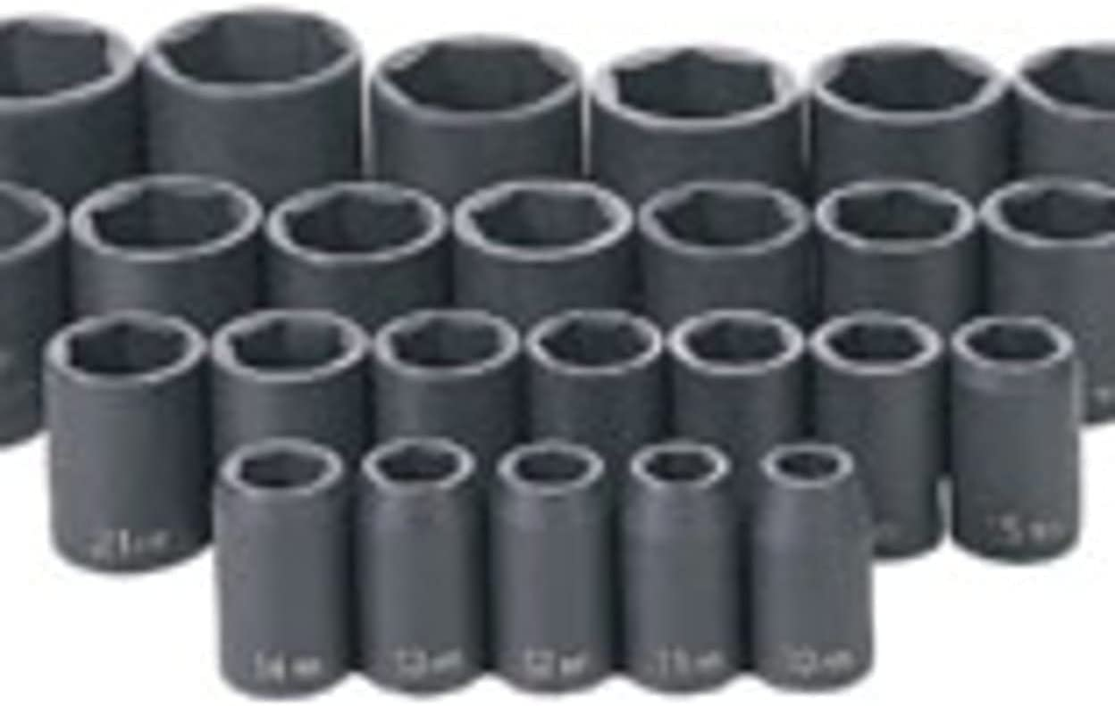 Max 63% OFF 2 Pack of Grey Pneumatic 1326M 1 So Shallow Metric 26 Pc. 2