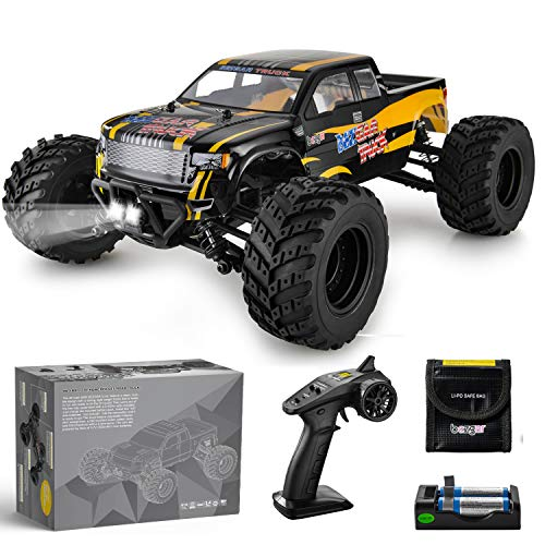 BEZGAR 1 Hobbyist Grade 1:12 Scale Remote Control Truck, 4WD High Speed 42 Km/h...