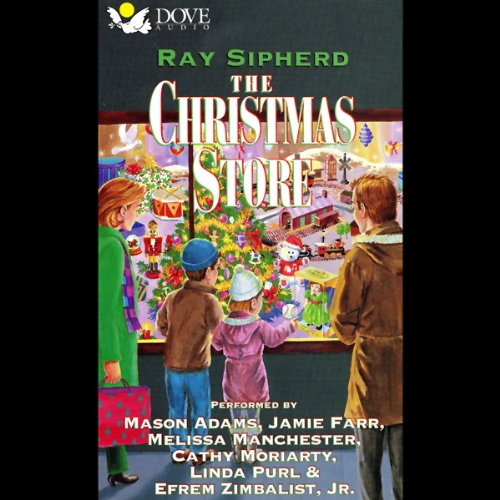 The Christmas Store audiobook cover art