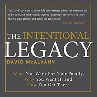 The Intentional Legacy audiobook cover art