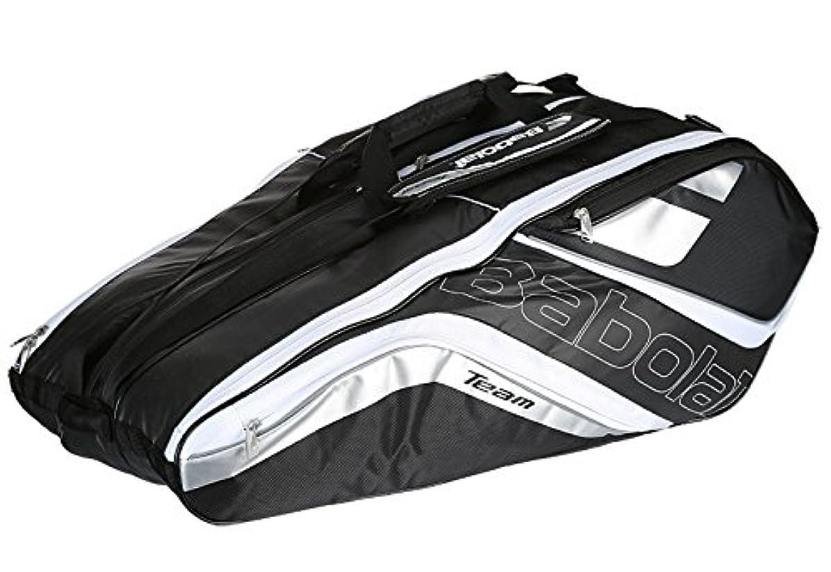 エンディング名前攻撃的Babolat(バボラ) テニス バドミントン ラケットバッグ チームライン 12本収納可 BB751120